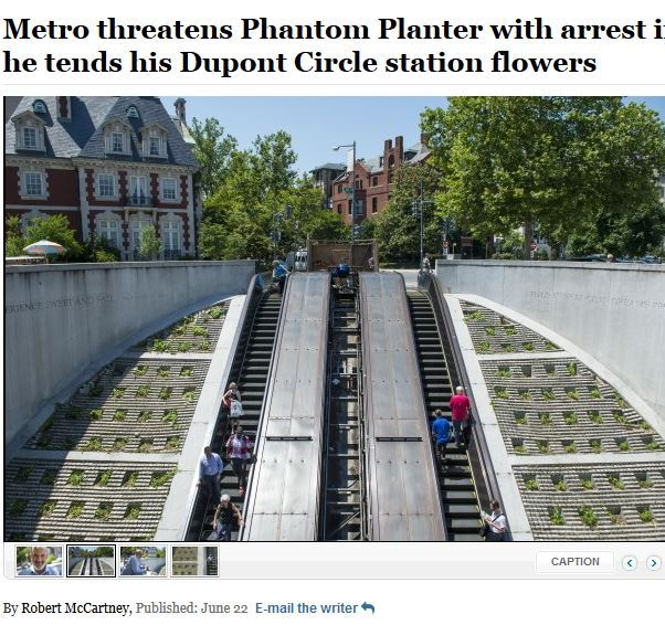 Metro gardener