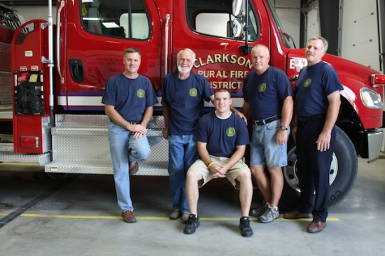 The Hamernik family has 143 years of combined service to the Clarkson, Nebraska Volunteer Fire Department. Jenny Hamernik Photo