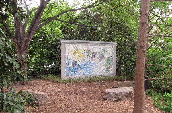Chagall In The National Gallery Sculpture Garden Gardenrant