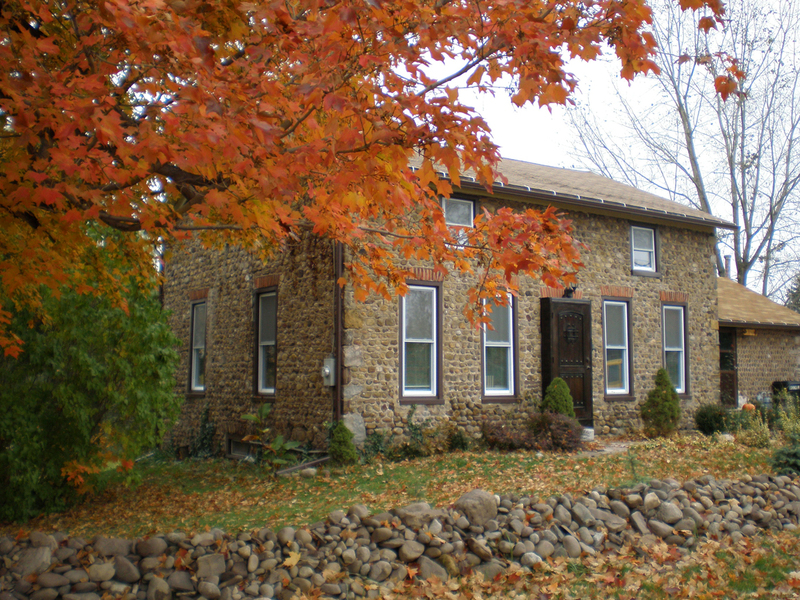 Cobblestone home, Niagara County