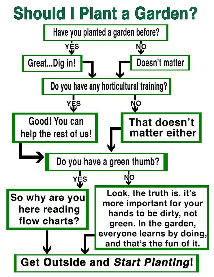 Flow Chart For The Gardening Revival Gardenrant