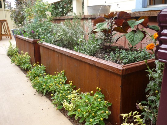 Pssst Want A Very Handsome Planter Box Gardenrant