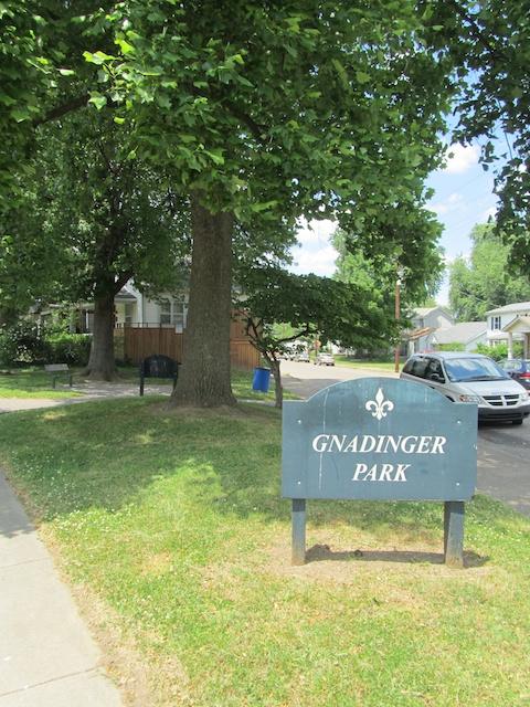 Not so big Gnadinger Park in Louisville, Kentucky