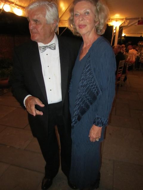 Hannah and Kurt at American Horticultrual Society Gala 2012