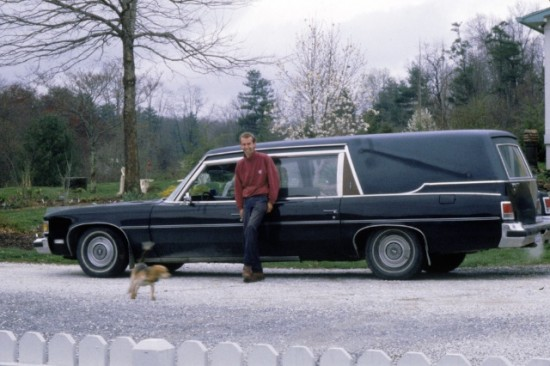 Lambèrt's Hearse at Holbrook Farm and Nursery, Fletcher, NC in 1995