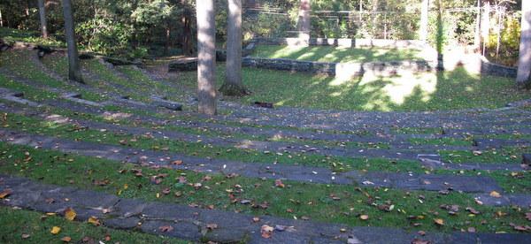 Amphitheater,  Scott Arboretum, Swarthmore College