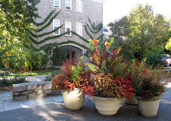Pots, Scott Arboretum, Swarthmore College