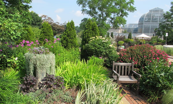 Bartholdi Park at U.S. Botanic Garden in DC