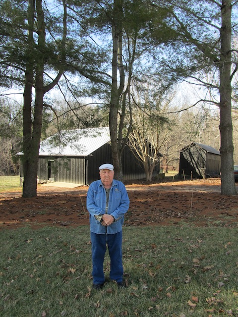 Otis Knox and his white pines