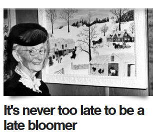 later bloomer