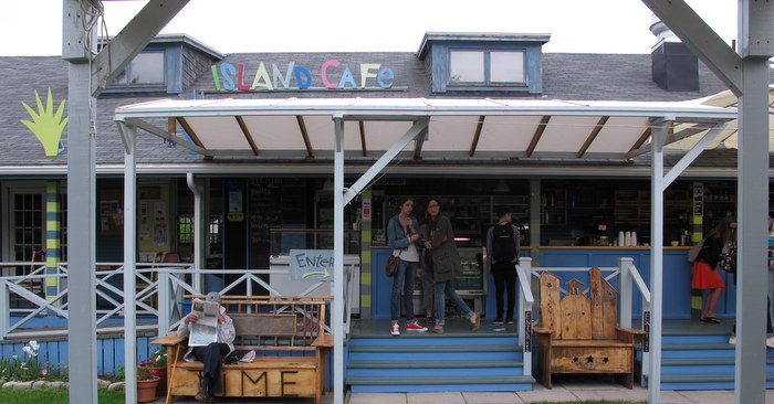 Island Cafe on Toronto Island