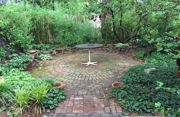The Volk family garden, recently sold.