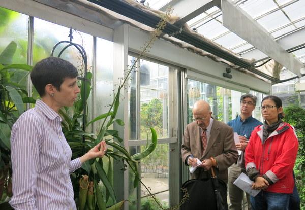 Dr. Susan Pell at U.S. Botanic Garden