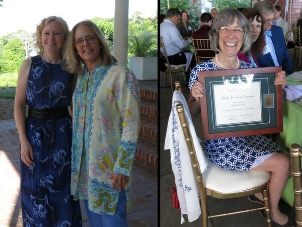 Amy Bolton, Holly Shimizu and Marta McDowell a AHS Awards