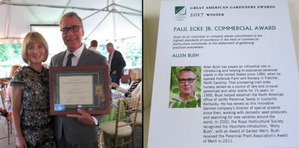 Allen and Rose Bush at AHS Awards