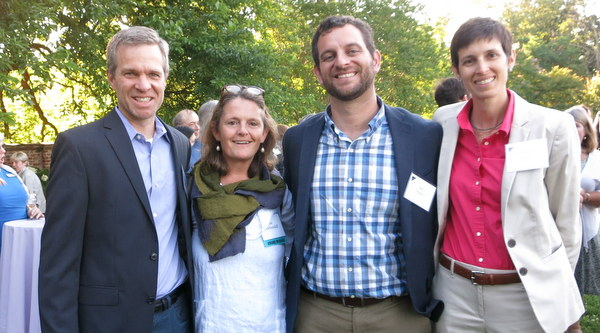 U.S. Botanic Garden folks at AHS Awards night