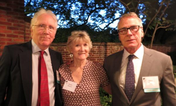 Tom Christopher, Susan Harris and Allen Bush at 2017 AHS Awards