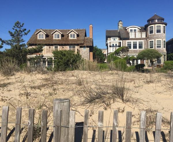 Landscape of Rehoboth Beach, De.