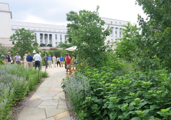 Bartholdi Garden at U.S. Botanic Garden