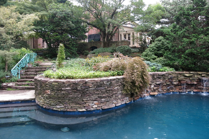 Hubbard garden in Baltimore