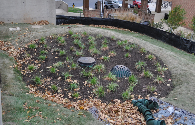 Stormwater solutions on U. Maryland College Park campus