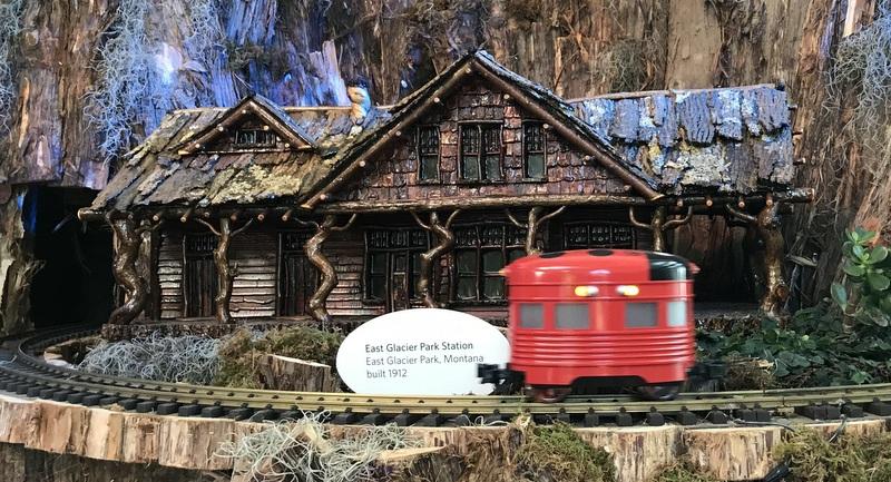Trains at US Botanic Garden