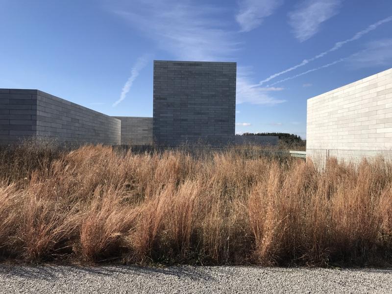 Landscape of Glenstone in Maryland, December 2018