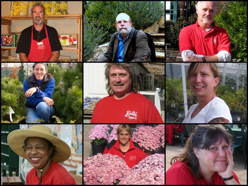 Staff of Behnke Nurseries in Beltsville, Maryland