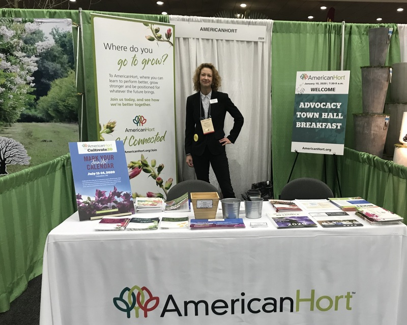 Holly Scoggins for AmericanHort at MANTS