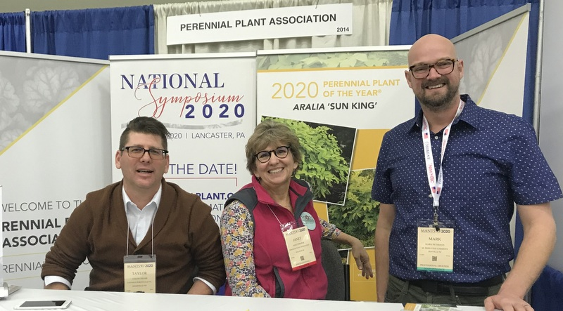 Perennial Plant Association and Janet Draper at MANTS