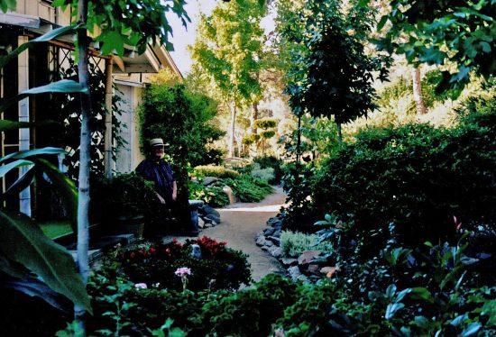 garden, proud gardener