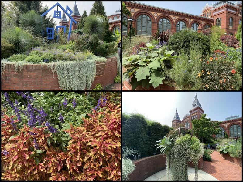 Ripley Garden of Smithsonian September 2020