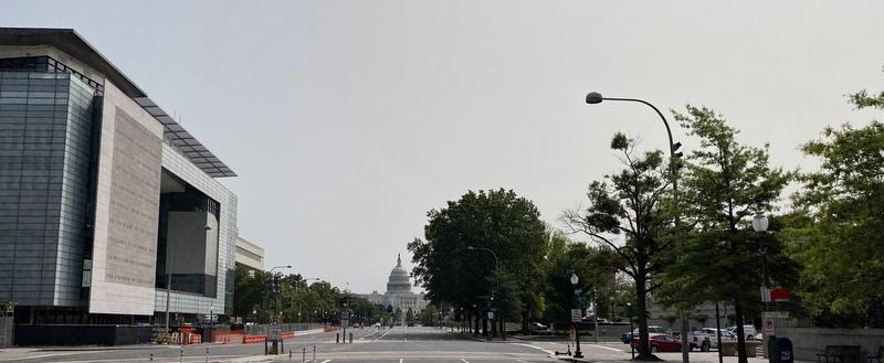 Pennsylvania  Avenue view to Capitol, September 2020