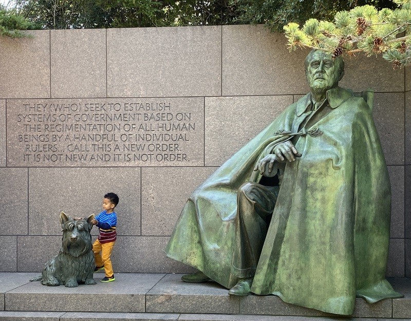 FDR Memorial September 2020
