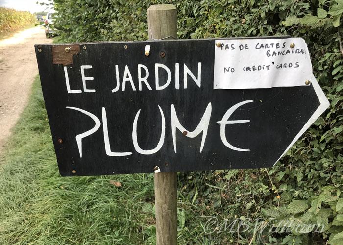 jardin plume named garden