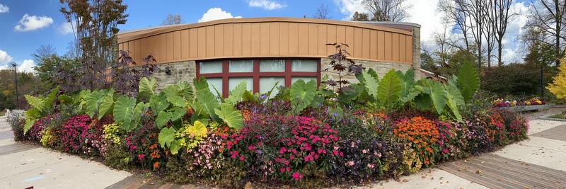Brookside Gardens Visitors Center October 2020