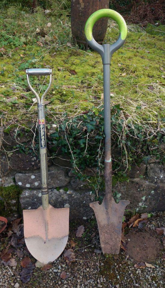 British spade